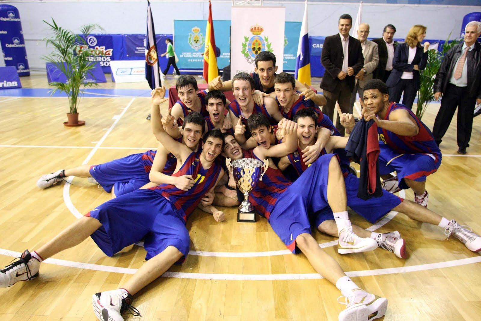 Ganadores del Torneo Internacional Junior del Club Baloncesto UNELCO